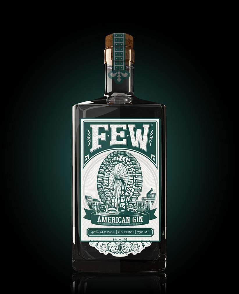 american gin few spirits