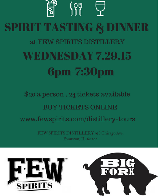 Tasting Dinner with Big Fork Brands