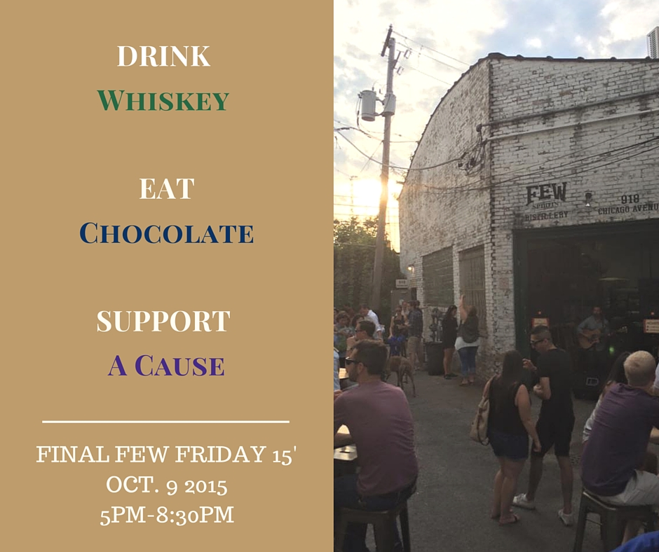FINAL FEW Friday 15′ – October 9 with Katherine Anne Confections & YWCA Evanston