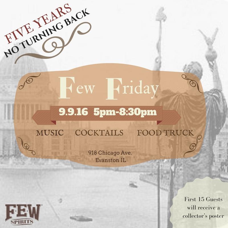5th Anniversary Party – F.E.W. Friday 9.9.16