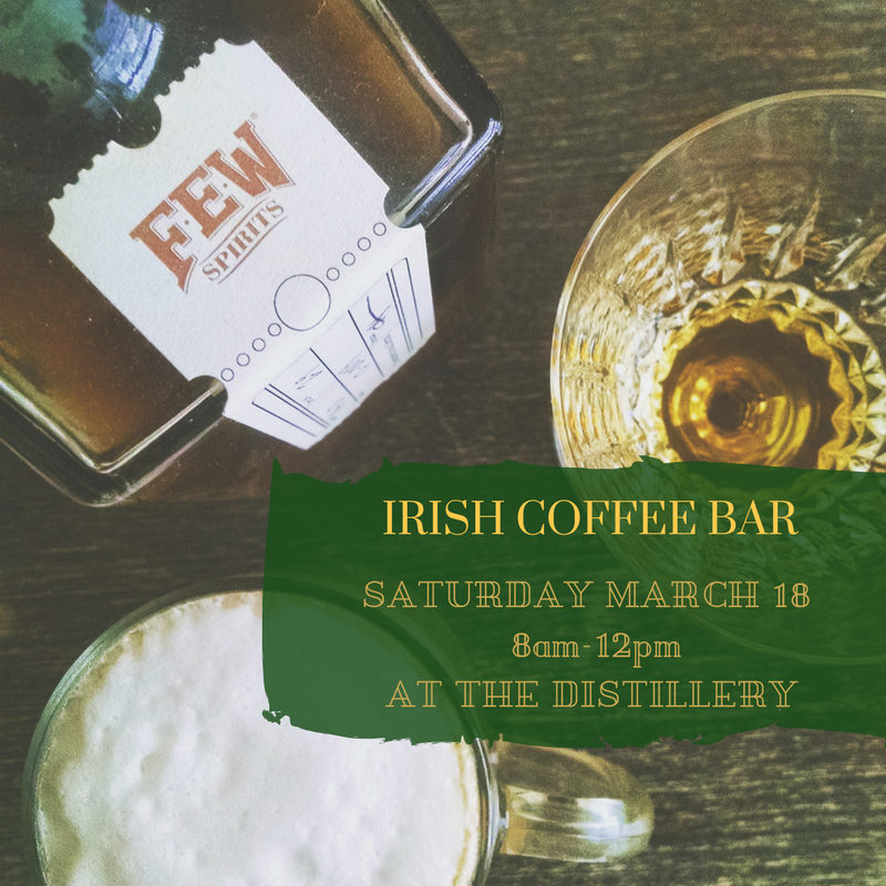 Top o' The Morning – Irish Coffees