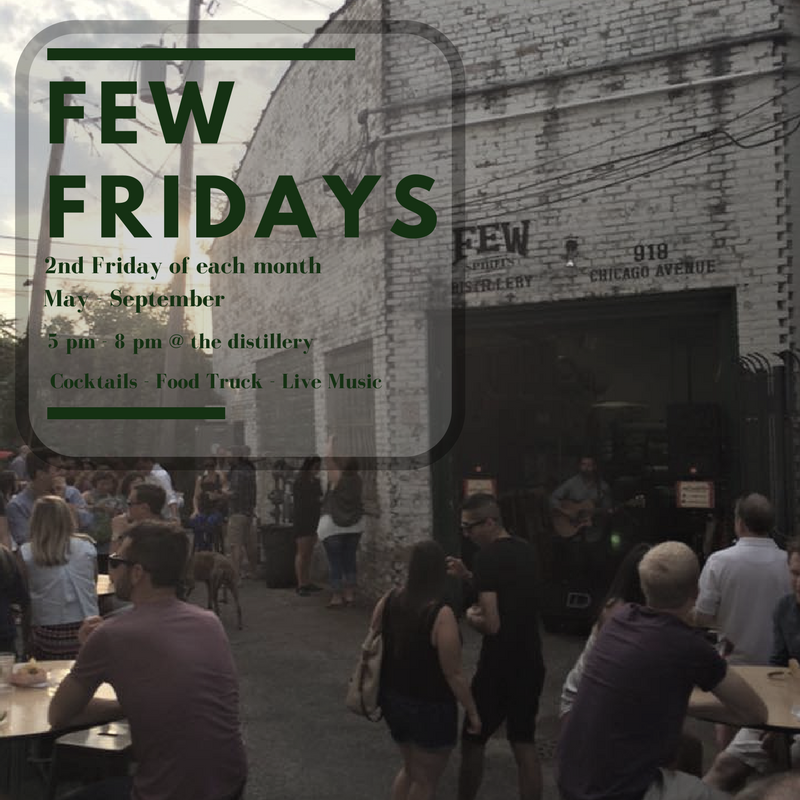 FEW FRIDAYS 2017 – COCKTAILS – FOOD TRUCKS – MUSIC -FRIENDS