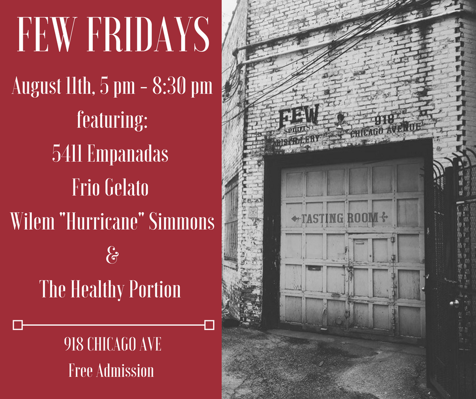 FEW FRIDAY – AUGUST 11, 2017