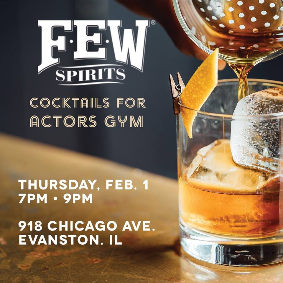 Cocktail Hour for Actors Gymnasium – 2.01.18