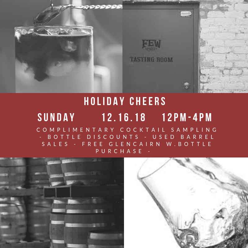Holiday Cheers –  12.16.18